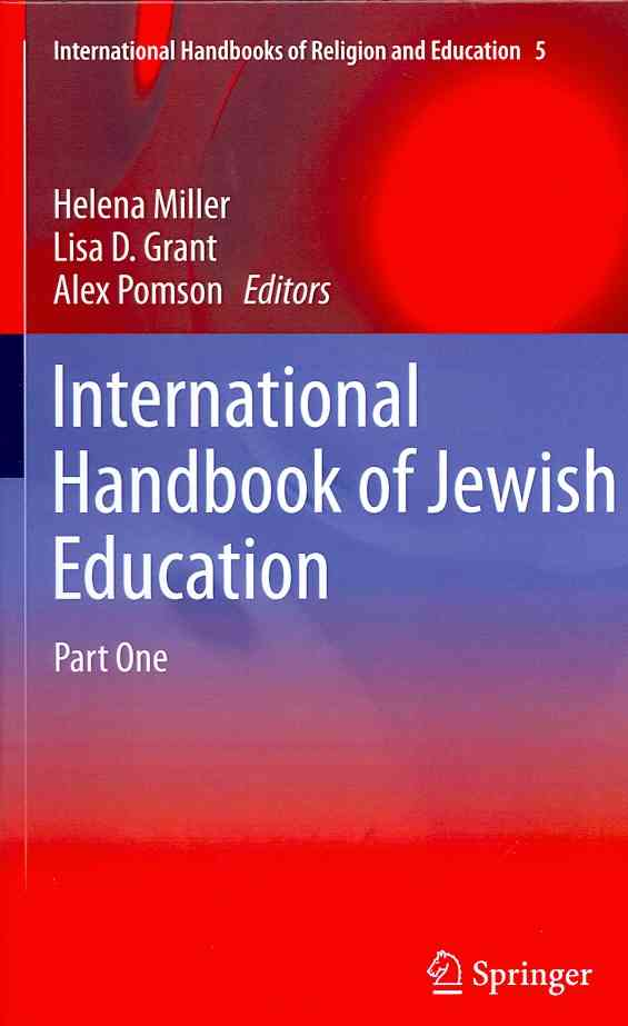 International Handbook of Jewish Education By Miller, Helena (EDT)